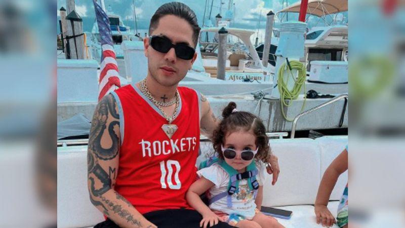 ¡Kima! Juan de Dios Pantoja llora al ver que su hija de menos de dos años hace esto: VIDEO