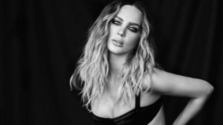 VIDEO: Con lujoso 'look' playero, Belinda se burla de los rumores de embarazo y se luce en Instagram