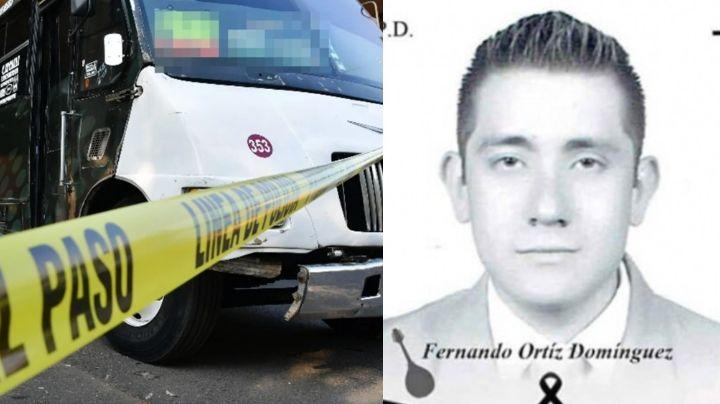 Tragedia: Al maestro Fernando lo asesinaron a sangre fría en camión; era su primer día de clases
