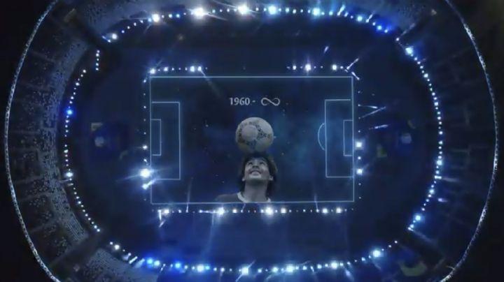 VIDEO: Así fue el increíble homenaje de la Copa América a Diego Armando Maradona