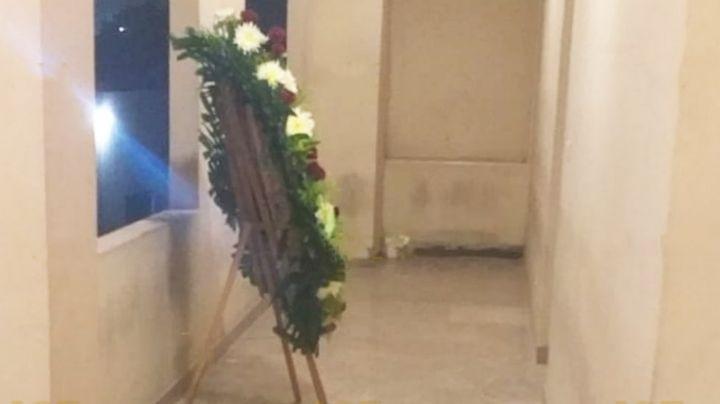 Investigan corona fúnebre entregada a pareja en Ciudad Obregón; se trataría de una amenaza