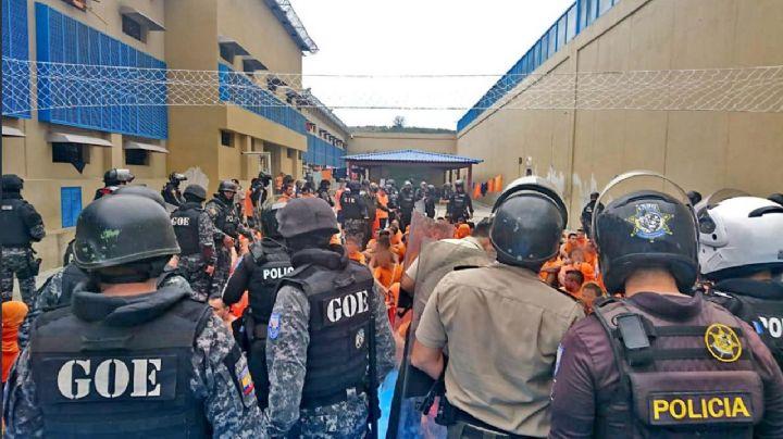 Un muerto y 7 heridos fue el saldo de un motín e intento de fuga de una cárcel en Ecuador