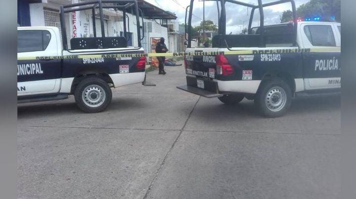 Maleantes alcanzan a un hombre y lo privan de la vida de varios disparos en Veracruz