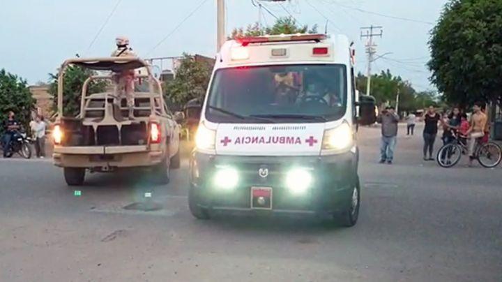 Pistoleros hieren de bala a joven al noreste de Ciudad Obregón; fue llevado a un hospital