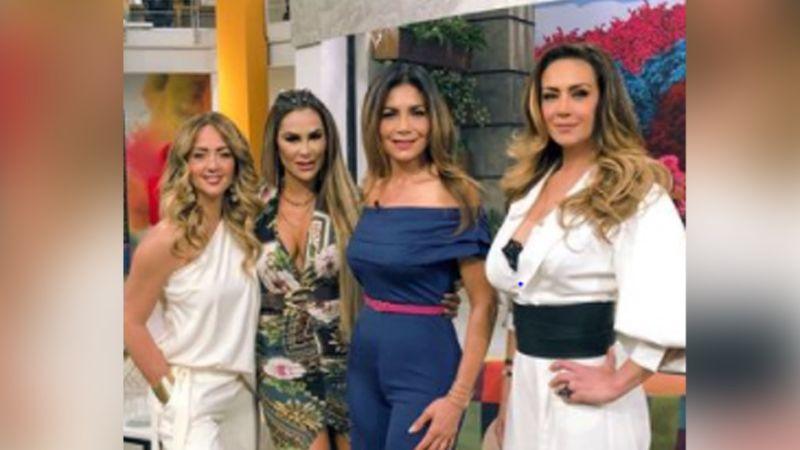 ¿Fue Andrea Legarreta? Conductora de Televisa le hizo mala cara a Anette Michel en su debut en 'Hoy'