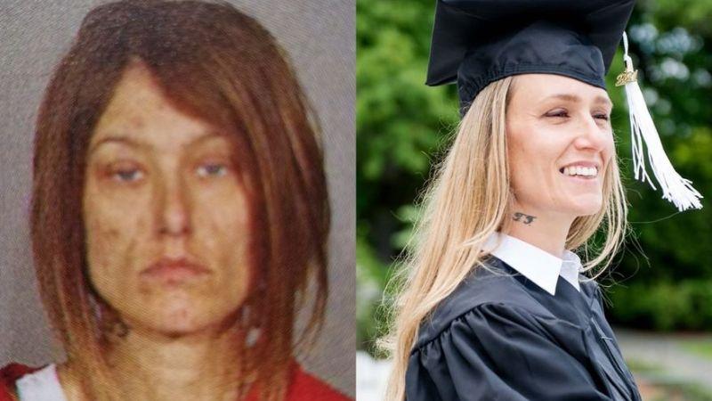 (FOTOS) 'Ginny': Exadicta a la heroína comparte su transformación; terminó la universidad