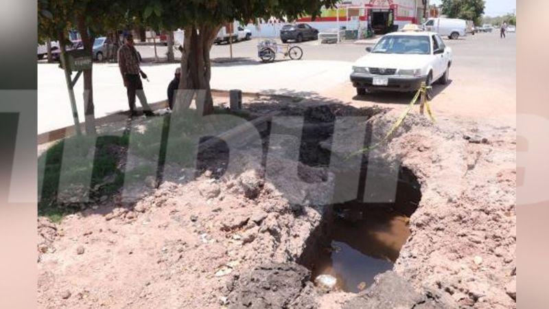 Taxistas reportan estar afectados por trabajo inconcluso de Oomapas en Esperanza