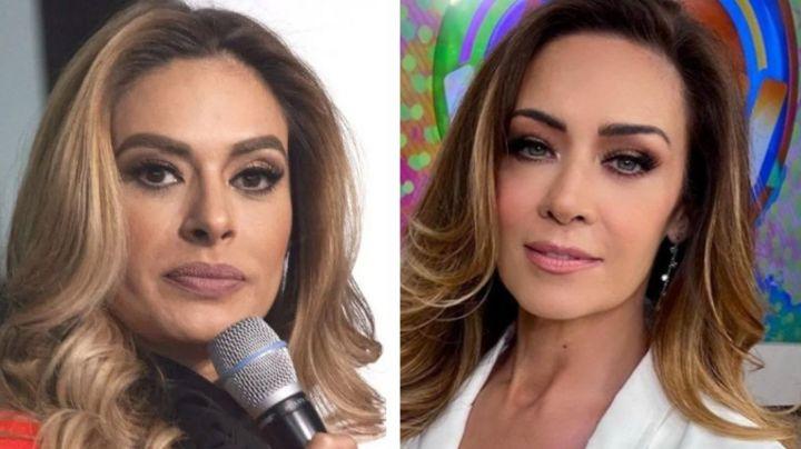 """Adiós 'Hoy': Galilea Montijo, 'furiosa' al ver que Anette Michel llegó a Televisa: """"No está contenta"""""""