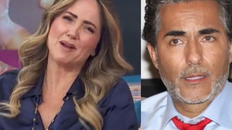 """""""Qué asco"""": Andrea Legarreta explota en 'Hoy' y exhibe 'cochinada' que hizo 'El Negro' en pleno foro"""