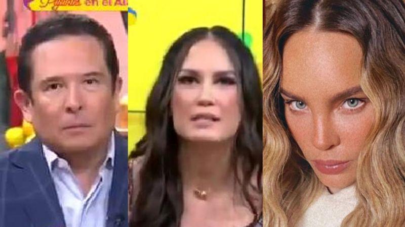 """""""Es su juego"""": Elenco de 'Sale el Sol' tunde a Belinda por negar embarazo; venderían la exclusiva"""