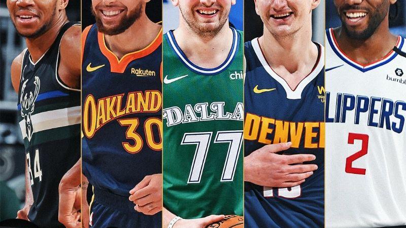Brillan con luz propia; Jokic, Antetokounmpo y Doncic lideran el equipo All-NBA 2020-21