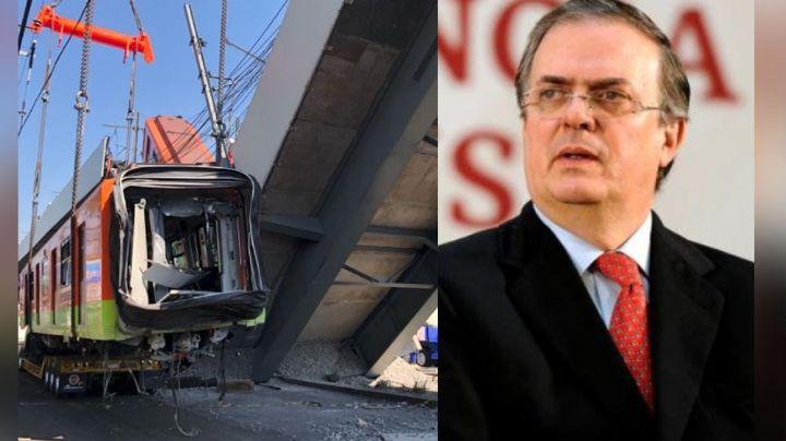 Ebrard reacciona ante el Dictamen Preliminar de la caída de la Línea 12 en CDMX