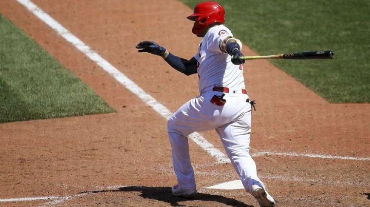 Yadier Molina sale al rescate de St. Louis con un hit y deja tendido a Miami