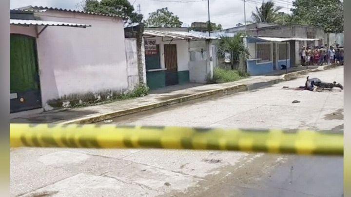 Sicarios ultiman a balazos a 'El Negro' mientras circulaba en su bicicleta