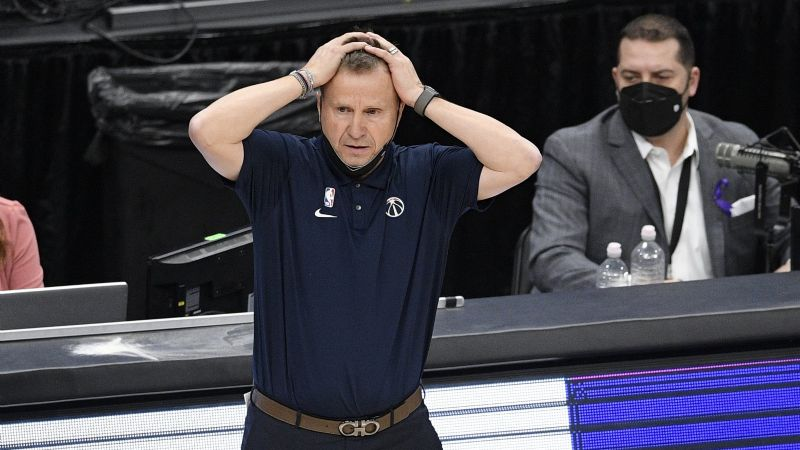 Se acabó la 'magia': Brooks se desvincula como entrenador de los Wizards