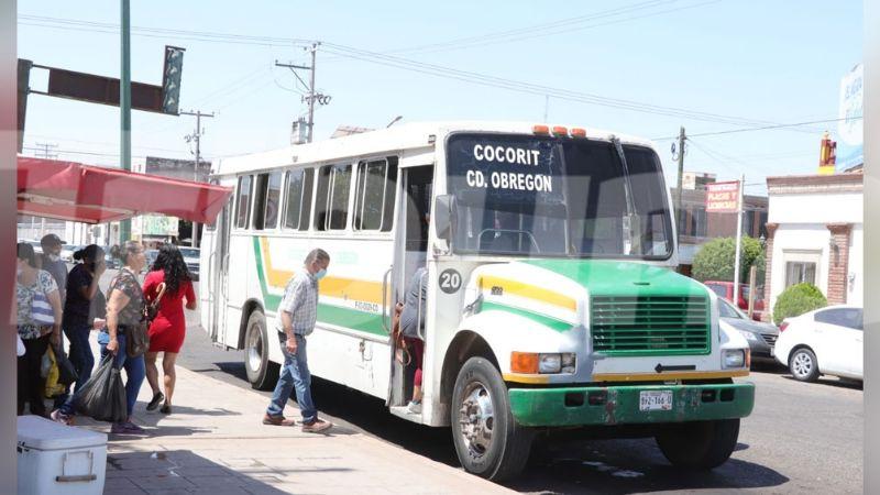 Cajeme: Transporte suburbano implementa estrategias al verse afectado por ausencia de estudiantes