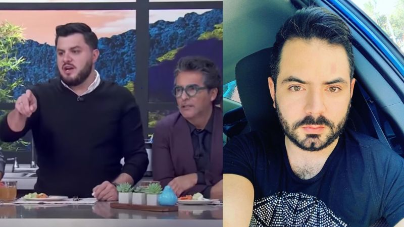 "Tras 'robar' celular, conductor de 'Hoy' exhibe 'mañas' de José Eduardo: ""Es uña larga"""