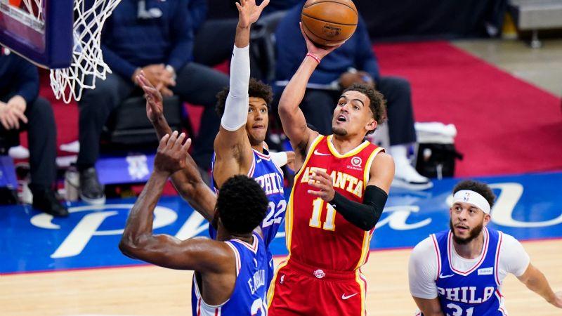 Remontada de locura: Hawks le saca el resultado a los 76ers y toman ventaja en los playoffs