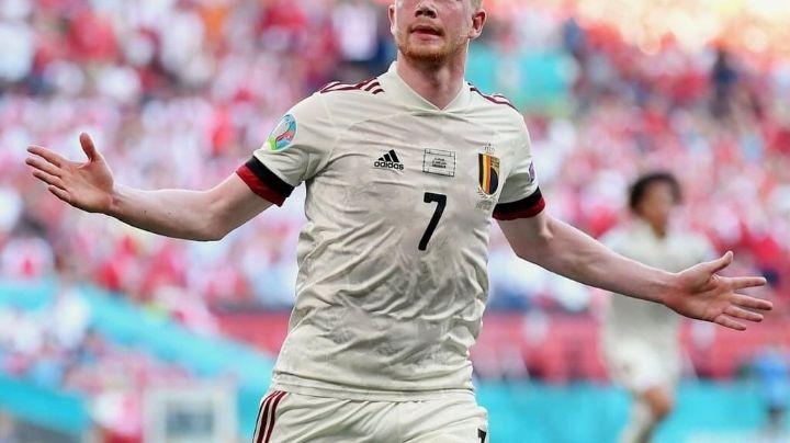 ¡Aguafiestas! Bélgica estropea homenaje a Eriksen y vence a Dinarmaca