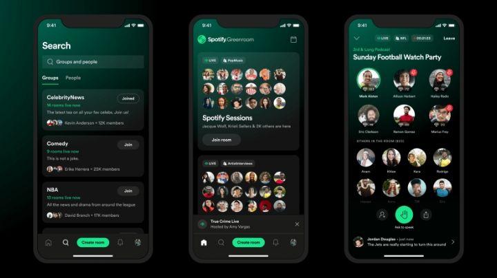 Spotify compite con Clubhouse: Lanza nueva aplicación de salas de audio en vivo