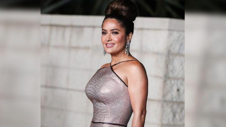 """¡Abran paso! Salma Hayek recibe lugar en paseo de la fama de Hollywood: """"Me han dado la estrella"""""""