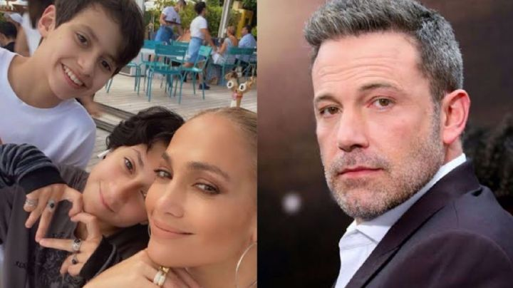 """¡La cosa va en serio! Hijos de Jennifer Lopez ya conviven con Benn Affleck ¿Lo llaman """"papá""""?"""