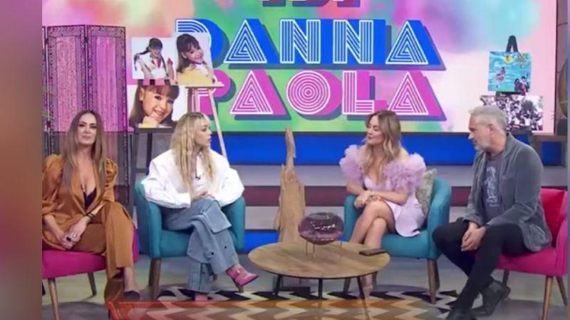 Tras 'veto' de TV Azteca, Danna Paola se une a 'Hoy'; Andrea Legarreta impacta con su reacción