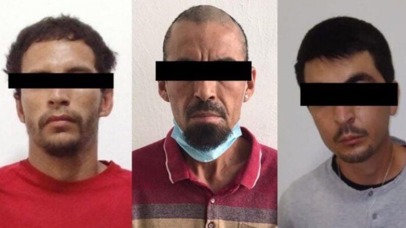 Atrapan a tres supuestos 'tiradores' en Hermosillo; les aseguran 35 envoltorios de droga