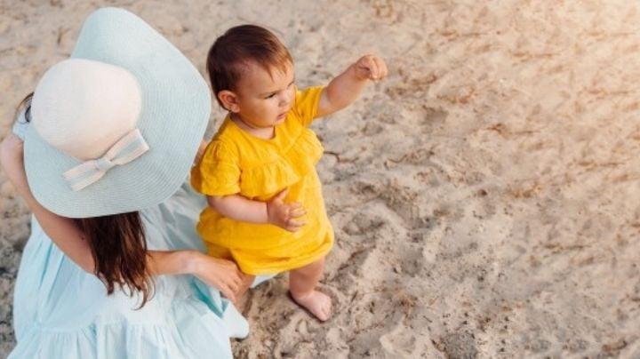 Atención mamás: Estos son cuidados especiales para tu bebé durante el verano 2021