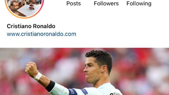 ¡Imparable! Cristiano Ronaldo logra nuevo récord, ahora en las redes sociales