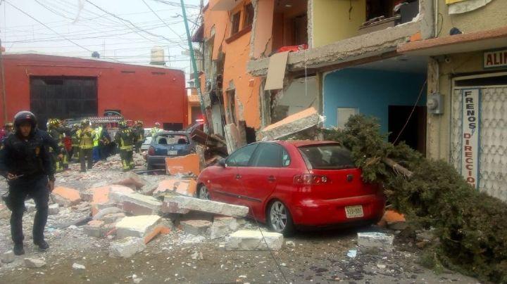 Explota una casa en en el Estado de México por acumulación de gas; hay dos muertos