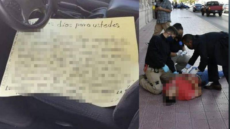 """En forma de """"protesta"""", hombre se disparó con un escopeta afuera del Palacio de Gobierno en Chihuahua"""