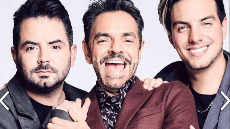 ¡Padrísimo! Eugenio, Vadhir y José Eduardo Derbez posan para celebrar el Día del Padre