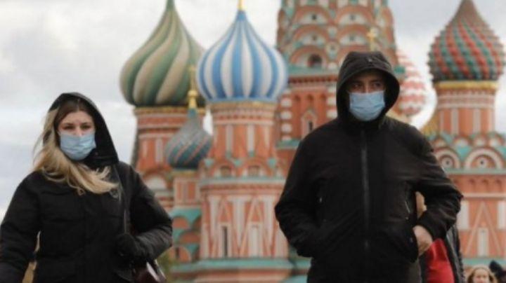 Moscú bate récord por variante delta de Covid-19: Suma 9 mil 120 contagios en 24 horas