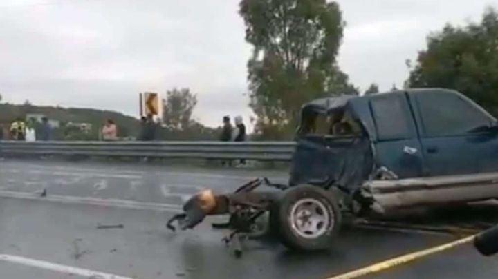 Trágico accidente: Fallecen 7 jóvenes tras impactarse contra un trailer en Querétaro