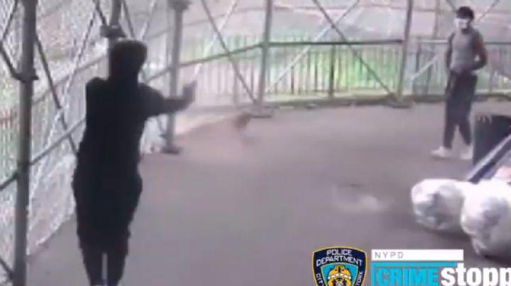 VIDEO: Pelea a palabras con otro hombre, se enoja y le dispara a plena luz del día