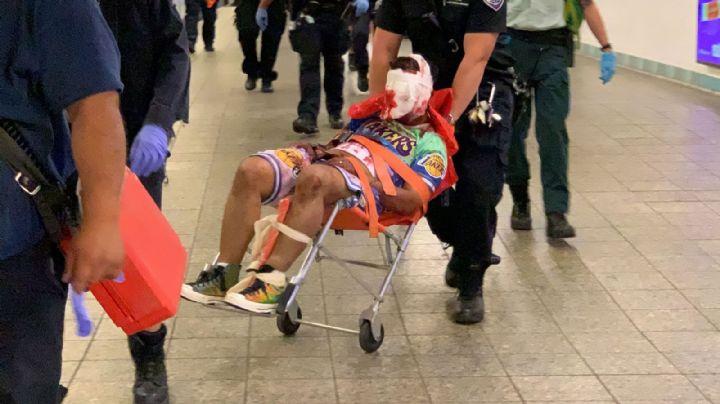 Brutal ataque: Acuchillan en la cabeza a un hombre que esperaba en una estación del metro