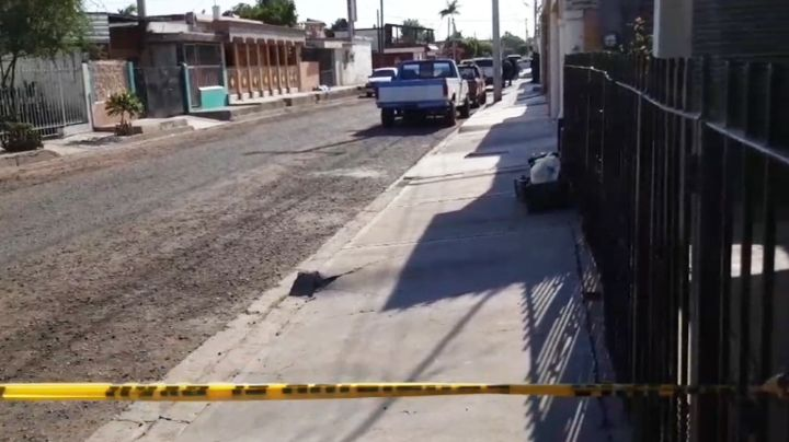 Hombre sin vida en plena vía pública desata movilización policíaca en Ciudad Obregón