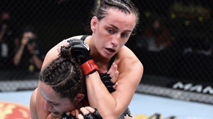 VIDEO: Así estranguló Casey O'Neill a su contrincante para ganar su combate de UFC