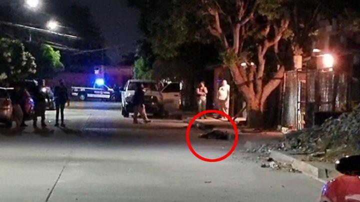 Dos sujetos son rafagueados al sur de Ciudad Obregón; uno murió y el otro está grave