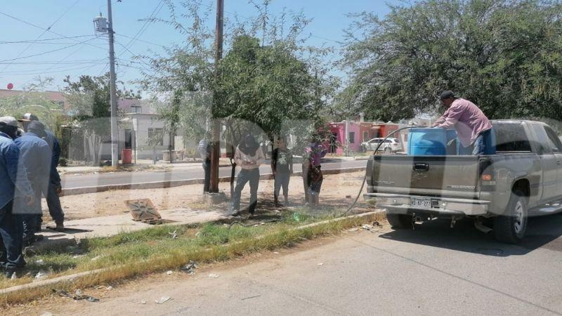 Oomapas en Navojoa atenta contra residentes; deja sin agua al oriente de la ciudad