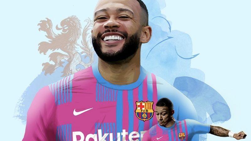 Barcelona anuncia de manera oficial la llegada del holandés Memphis Depay