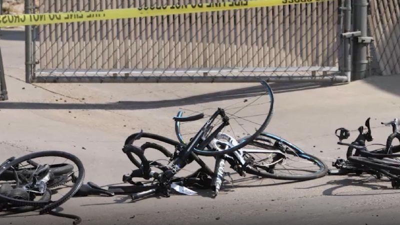 Policías abaten a tiros a un conductor que arrolló a 8 ciclistas en Arizona