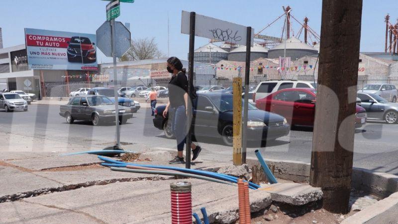 Ciudad Obregón: Obra incompleta afecta imagen urbana y atracción de inversión