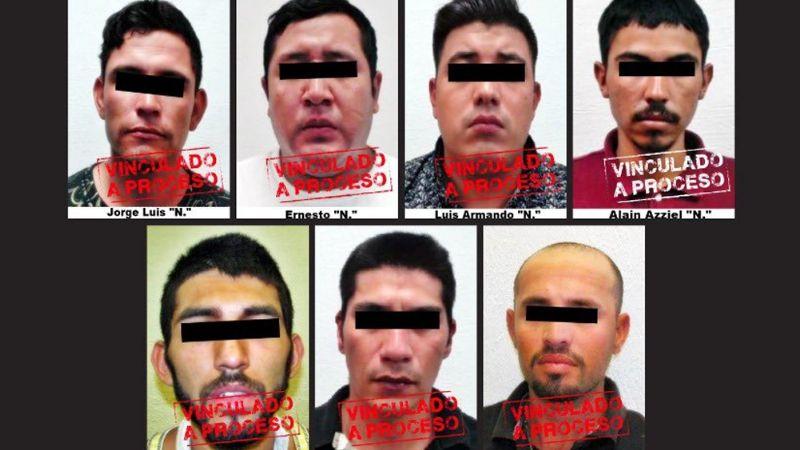 Ponen tras las rejas a siete sujetos en Hermosillo; están acusado de robo con violencia