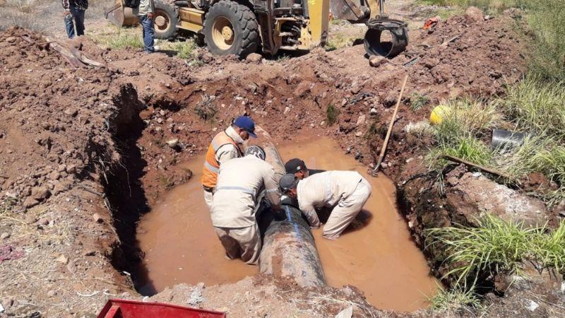 Sectores sin agua en Guaymas, una problemática que se agrava en temporada de calor