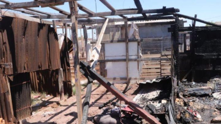 Ciudad Obregón: Francisco pide ayuda tras perder su patrimonio en un incendio