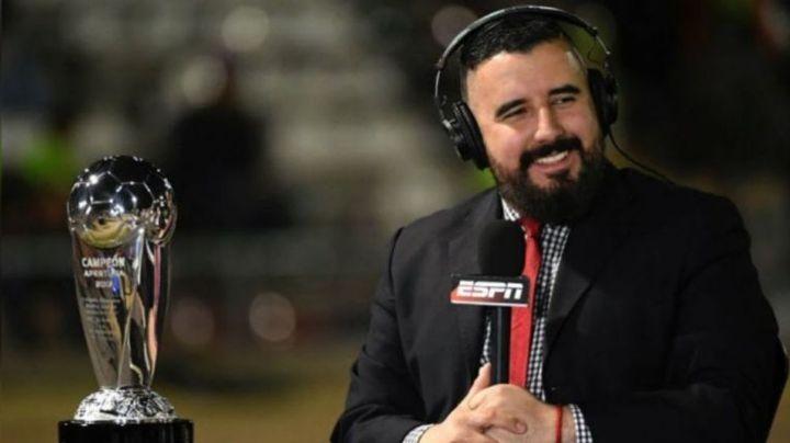 """Tras 18 años de conductor en ESPN, Álvaro Morales se despide de la cadena: """"Ha sido un placer"""""""