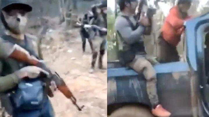 Último VIDEO de sicarios del Cártel de Sinaloa antes de masacre; rivales los balearon y decapitaron