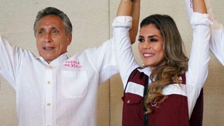 Manuel Negrete renuncia a candidatura de Guerrero y muestra su apoyo a Evelyn Salgado